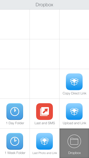 Launch Center Pro and Dropbox
